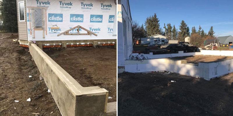 foundations grade beams